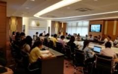 วิทยาลัยเทคโนโลยีและสหวิทยาการ จัดประชุมบุคลากรสายวิชาการ ประจำเดือนกรกฎาคม 2561 ณ ห้องประชุมสภามหาวิทยาลัยฯ C1 มทร.ล้านนา ดอยสะเก็ด