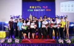 กิจกรรมการประกวด RMUTL PLC Star Contest 2018