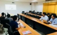 ตัวแทนบริษัท SIEMENS เข้าหารือกับคณาจารย์หลักสูตรวิศวกรรมเมคคาทรอนิกส์ วิทยาลัยฯ