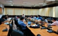 การประชุมโครงการขยายผลการจัดการศึกษาแบบบูรณาการการเรียนรู้ถึงการทำงาน