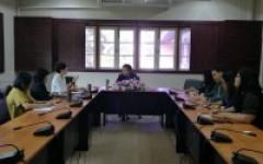 การประชุมร่วมกับผู้แทนจากสถานเอกอัครราชทูตแคนาดา