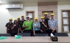 นักศึกษาหลักสูตรการผลิตและนวัตกรรมอาหาร วิทยาลัยฯเข้าศึกษาดูงาน ณ บริษัทอาหารภาคเหนือ จำกัด Nothern Food Co.,Ltd.