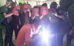 นักศึกษาหลักสูตรเตรียมวิศวกรรมศาสตร์ เรียนรู้นอกห้องเรียนการทดสอบมาตรฐานฝืมือแห่งชาติ ณ สถาบันพัฒนาฝีมือแรงงาน จังหวัดลำพูน