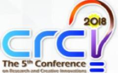 ขยายเวลาส่งบทความและส่งผลงานเข้าร่วมการประกวดในการประชุมวิชาการ CRCI ครั้งที่ 5