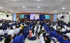 ทีมงานแนะแนวการศึกษา ออกแนะแนวการศึกษา ให้กับน้อง ๆ นักเรียน ณ โรงเรียนส่วนบุญโญปถัมภ์ ลําพูน