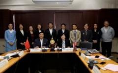 การประชุมร่วมกับคณะผู้แทนจาก Dehong Teachers'College (DTC) สาธารณรัฐประชาชนจีน