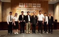 ชนะเลิศอันดับที่ 2 โครงการค้นหาสุดยอดฝีมือโทรคมนาคมและไอซีทีเทิดพระเกียรติ ครั้งที่ 11 สาขา IoT Internet of Things