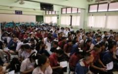 ทีมงานแนะแนวการศึกษา ออกแนะแนวการศึกษา ให้กับน้อง ๆ นักเรียน ณ โรงเรียนหางดงรัฐราษฎร์อุปถัมภ์ อำเภอหางดง จังหวัดเชียงใหม่