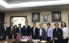 การประชุมร่วมกับผู้แทนจากสำนักงานเศรษฐกิจและวัฒนธรรมไทเป ประจำประเทศไทย