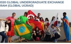 รับสมัครสอบชิงทุน Global Undergraduate Exchange Program ประจำปีการศึกษา 2562