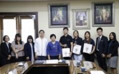 การประชุมร่วมกับผู้แทนจาก Nanyang Polytechnic (NYP) ประเทศสิงคโปร์