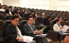 การประชุมชี้แจงสนามสอบและเตรียมความพร้อมคณะกรรมการดำเนินการทดสอบการศึกษาระดับชาติ ด้านอาชีวศึกษา (V-NET)