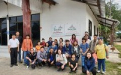 กลุ่มแกนนำบ้านหลายทุ่ง ลงพื้นที่ศึกษาตัวอย่างการท่องเที่ยวโดยชุมชน
