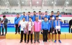 ม.เทคโนโลยีราชมงคลล้านนา ชนะเลิศวอลเลย์บอลชายในการแข่งขันกีฬามหาวิทยาลัย'ครั้งที่ 46
