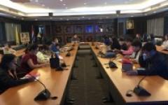 ประชุมคณะกรรมการการจัดการความรู้ (KM)
