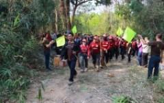 กิจกรรมบวชป่าและทำแนวป้องกันไฟป่า ประจำปี 2562 ณ มทร.ล้านนา เชียงราย