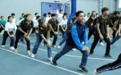 นักศึกษา มทร.ล้านนา ร่วมงาน Role Model กิจกรรมกีฬาเพื่อสุขภาพและนันทนาการ