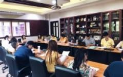 ประชุมติดตามและประเมินผลการใช้จ่ายงบประมาณค่าวัสดุการศึกษา ประจำปีงบประมาณ พ.ศ. 2562 (ภาคการศึกษาที่ 2/2561)