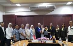 การประชุมร่วมกับคณะผู้แทนจาก Brawijaya University ประเทศอินโดนีเซีย