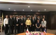 การประชุมร่วมกับผู้แทนจาก Tsuruoka College, National Institute of Technology ประเทศญี่ปุ่น