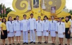 พิธีถวายพระพรชัยมงคล เนื่องในโอกาสวันเฉลิมพระชนมพรรษาสมเด็จพระนางเจ้าสุทิดา พัชรสุธาพิมลลักษณ พระบรมราชินี  3 มิถุนายน 2562