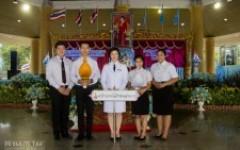 พิธีถวายเครื่องราชสักการะและจุดเทียนถวายพระพรชัยมงคล เนื่องในวันเฉลิมพระชนมพรรษา 12 สิงหาคม 2562