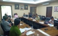 การประชุมเตรียมความพร้อมในการเข้าร่วมกิจกรรมประกวดขบวนกระทงใหญ่ ประจำปี พ.ศ.2562 ครั้งที่ 1