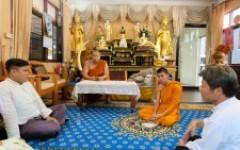 ศูนย์วัฒนธรรมศึกษา เข้าร่วมประชุมกับพระสงฆ์วัดช่างเคี่ยน เพื่อหารือวางแผนการดำเนินงานทอดกฐิน มทร.ล้านนา ประจำปี พ.ศ.2562