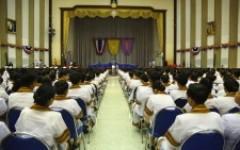 พิธีซ้อมรับพระราชทานปริญญาบัตรแก่ผู้สำเร็จการศึกษา ประจำปีการศึกษา 2561