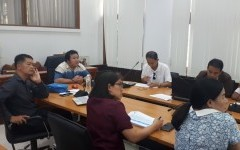 การประชุมชี้แจงการจัดทำข้อเสนอโครงการวิจัยปี 2564