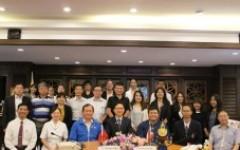 การประชุมร่วมกับคณะผู้แทนจากสำนักงานเศรษฐกิจและวัฒนธรรมไทเปประจำประเทศไทย และมหาวิทยาลัยในไต้หวัน