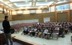 คณะวิศวกรรมศาสตร์  จัดโครงการปฐมนิเทศสหกิจศึกษา ภาคเรียนที่ 2 ปีการศึกษา 2562
