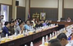 มทร.ล้านนา เชียงราย เข้าร่วมการประชุมเตรียมการจัดงานพ่อขุนเม็งรายมหาราชและงานกาชาด ประจำปี 2563