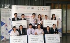 นักศึกษา มทร.ล้านนาเชียงราย คว้ารางวัลรางวัลชมเชยอันดับ 2 จากการเข้าร่วมแข่งขันประยุกต์ใช้ซอฟต์แวร์ ERP สำหรับงานด้านการเงินและบัญชี ชิงถ้วยพระราชทานสมเด็จพระกนิษฐาธิราชเจ้า กรมสมเด็จพระเทพรัตนราชสุดาฯ สยามบรมราชกุมารี ปี2562