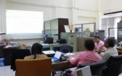 บุคลากรศูนย์วัฒนธรรมศึกษา ดำเนินการประชุม ร่วมกับ รองอธิการบดีฝ่ายกิจการพิเศษ เพื่อพิจารณารายละเอียดโครงการประจำปีงบประมาณ 2563 ครั้งที่ 2