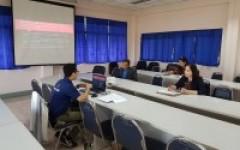 ประชุมการปิดตรวจสอบภายใน สถาบันวิจัยเทคโนโลยีเกษตร
