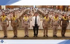 ผอ.สถช.ร่วมเป็นทีมวิทยากรจิตอาสา 904 บรรยายปลูกฝังอุดมการณ์ สถาบันพระมหากษัตริย์กับประเทศไทย ให้กับผู้บริหาร คณะครู บุคลากรทางการศึกษา และครูผู้ช่วย (บรรจุใหม่)
