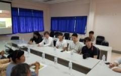 คณะอาจารย์และผู้เชี่ยวชาญ จากมหาวิทยาลัยแดเจิน ประเทศเกาหลีใต้ เข้าศึกษาดูงาน
