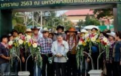 พิธีเปิดงานเกษตรน่านแฟร์ ครั้งที่ 3 มหกรรมยางพาราท้องถิ่นของดีเขตภาคเหนือ ประจำปี 2563