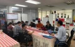 การประชุมบุคลากรสถาบันวิจัยและพัฒนา