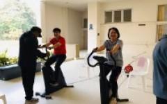 วิทยาลัยเทคโนโลยีและสหวิทยาการ จัดกิจกรรมทดสอบร่างกายเพื่อประเมินผลสุขภาพของบุคลากร วทส.