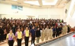 จิตอาสา 904 บรรยายให้ความรู้กับนักศึกษา ม.เทคโนโลยีราชมงคลล้านนา พิษณุโลก