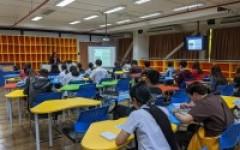 """การประชุมเชิงปฏิบัติการ """"การขอทุนศึกษาต่อต่างประเทศ"""" (RMUTL Study Abroad Workshop 2020)"""
