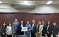 การประชุมร่วมกับคณะผู้แทนจาก National Chung Cheng University, ไต้หวัน