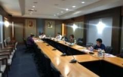 ประชุมคณะกรรมการตรวจสอบการบริหารงานประจำมหาวิทยาลัย ครั้งที่ 10 (4/2563)