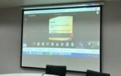 การประชุมชี้แจงแนวทางบริหารจัดการทุนวิจัย ที่ได้รับงบประมาณ ปี 2563 ผ่านระบบออนไลน์ Microsoft Teams