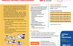 ประชาสัมพันธ์คอร์สอบรมออนไลน์สำหรับอาจารย์ จาก Singapore Polytechnic International ประเทศสิงคโปร์