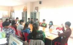 ประชุมหารือเกี่ยวการวางแผนโครงการปฐมนิเทศของคณะวิทย์ฯ