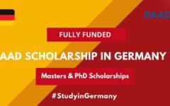 ทุนระดับปริญญาโทและเอก DAAD Scholarship in Germany 2020-21 ณ ประเทศเยอรมนี