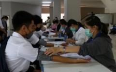 มทร.ล้านนา จัดโครงการตรวจสุขภาพ เตรียมความพร้อมด้านสุขภาพให้นักศึกษาใหม่ ประจำปี 2563